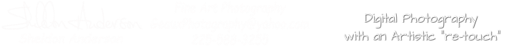Sheldon Anderson's Geaux Photography Professional Photographer
